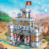 Banbao Black Sword Drawbridge Castle - 8260