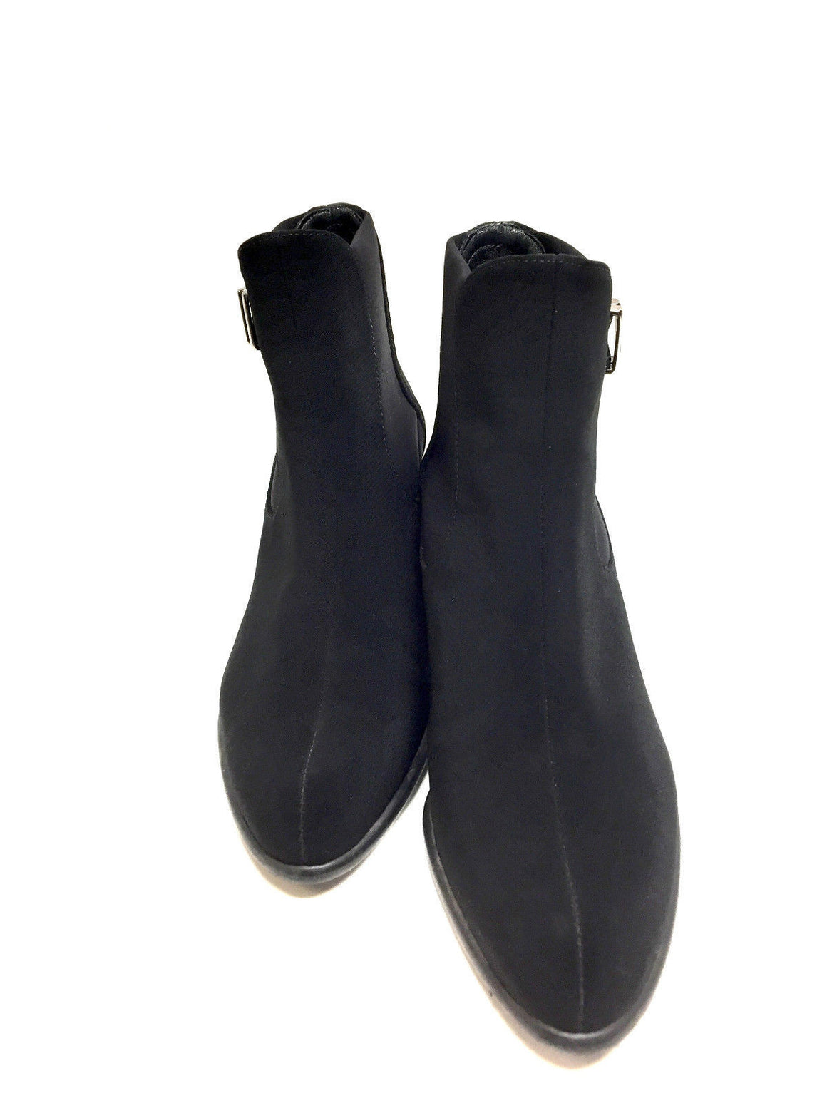 bisbiz.com STUART WEITZMAN Black Gore-Tex Microfiber Patent Leather Heels Ankle Boots/Booties Size: 7.5 - Bis Luxury Resale