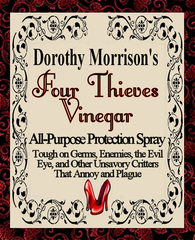 Dorothy Morrison's Special Edition Four Thieves Vinegar Spray