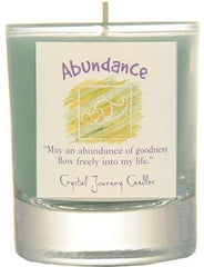 Abundance Herbal Magic Filled Votive Holders