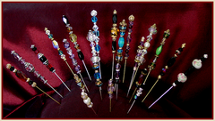 Dorothy Morrison's Poppet Pins and Inscription Tools