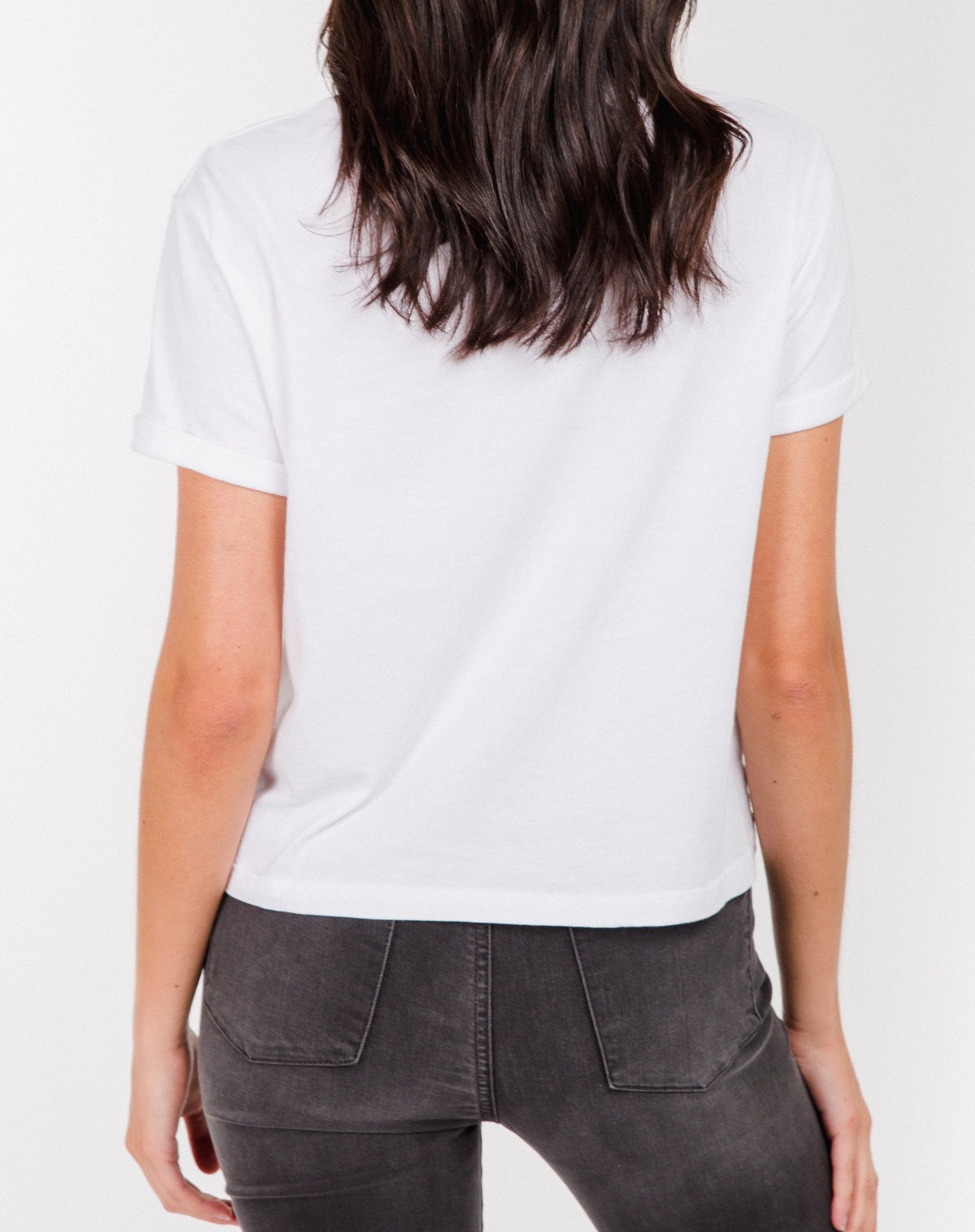 "The ""REDHEAD"" Cropped Tee"