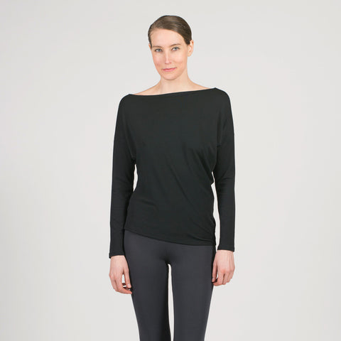 boatneck bias pullover - I Want Sense, Sense Clothing, Sense Active Spa Travel Wear for Women, Senseclothing.com