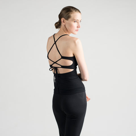 lace back tank - I Want Sense, Sense Clothing, Sense Active Spa Travel Wear for Women, Senseclothing.com