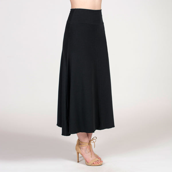 the a-line long skirt - I Want Sense, Sense Clothing, Sense Active Spa Travel Wear for Women, Senseclothing.com