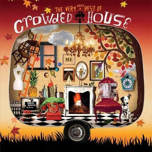 CROWDED HOUSE-THE VERY VERY BEST OF 2LP *NEW*