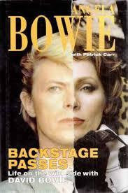 BACKSTAGE PASSES: LIFE ON THE WILD SIDE WITH DAVID BOWIE BOOK VG
