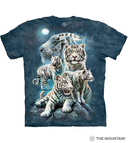 6273 Night Tiger Collage T-Shirt
