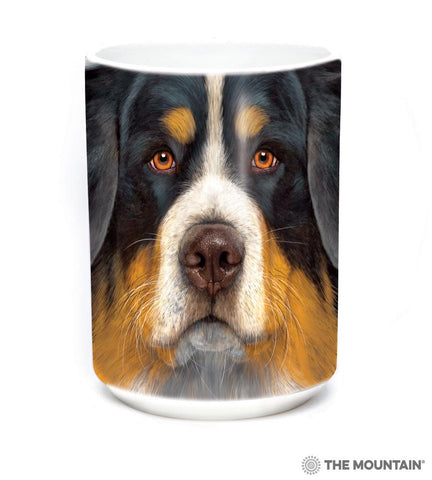 573614 Bernese Mountain Dog Face Mug