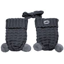 Calikids Knit Pompom Mitten (2 Colors)
