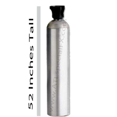 CO2 Cryo Tank 50lb With Siphon Tube For CO2 Cryo Jets