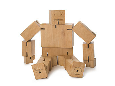 Cubebot Extra Large Natural
