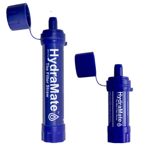HydraMate Water Filter Straws
