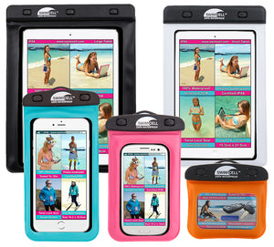 Waterproof ipad and phone cases SwimCell