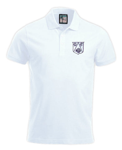 Derby County Retro 1950s Football Polo Shirt - Polo