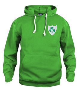 Republic of Ireland Eire Retro Rugby Hoodie - Hoodie