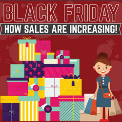 Black Friday - How Sales Are Increasing