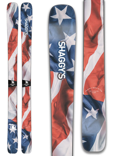 America Skis Limited Edition Skis Made in USA