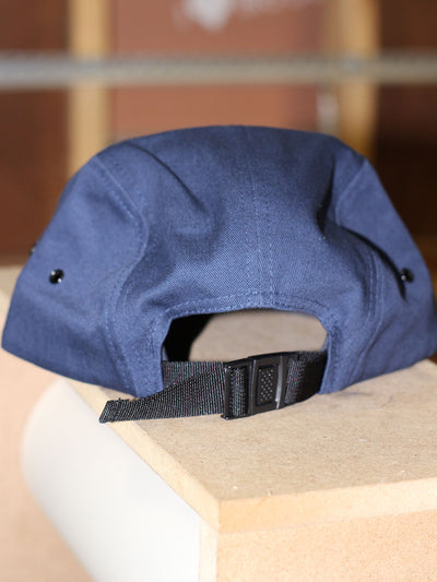 Leather Patch Camper Hat