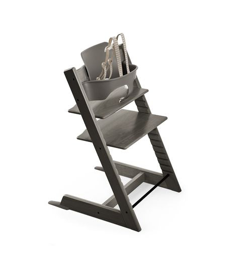 Stokke Tripp Trapp Baby High Chair. Aventura and Miami Baby Store. Hazy Grey