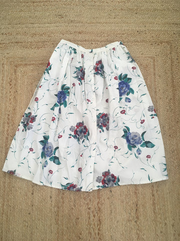 Intentions 80s Floral skirt