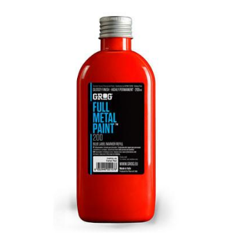 Grog Full Metal Paint 200ml - Red
