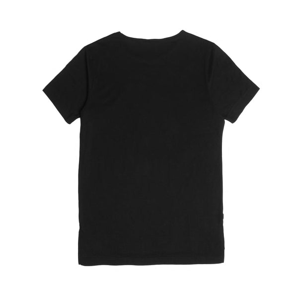 05 - Official S/S Elongated Tee - Black