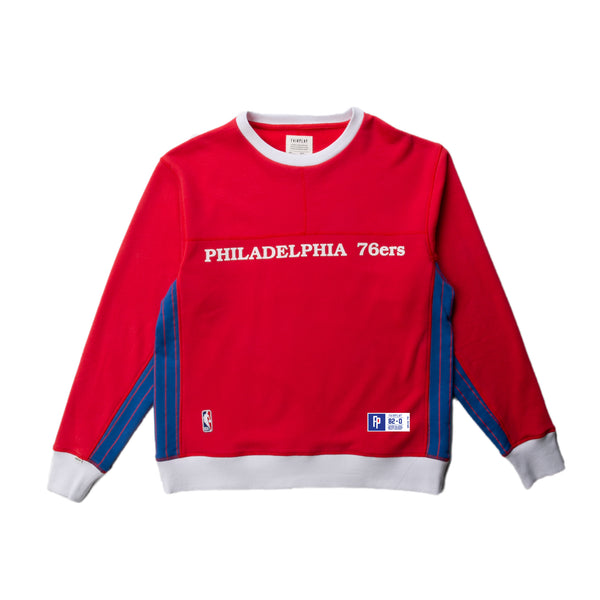 Philadelphia 76ers French Terry Crewneck Sweatshirt | PREORDER