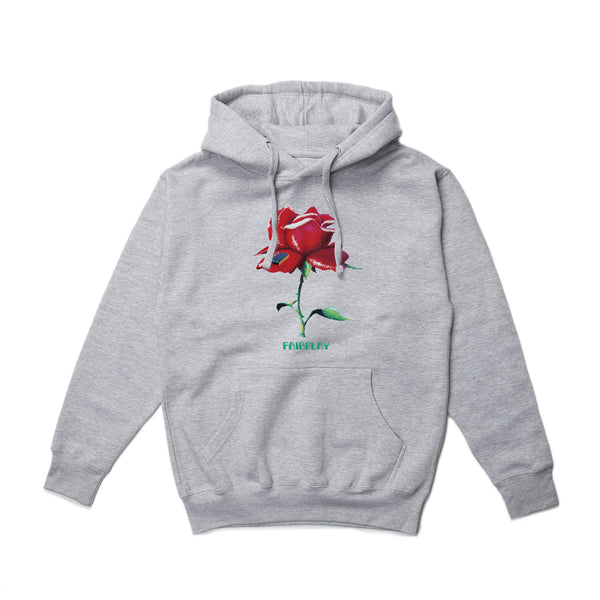 Digital Rose Hood - Heather