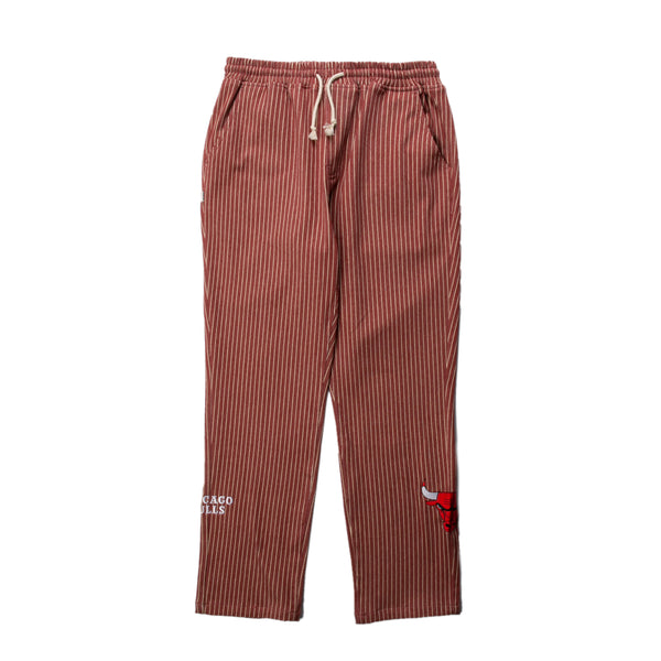 Chicago Bulls Pinstripe Cotton Pant | PREORDER
