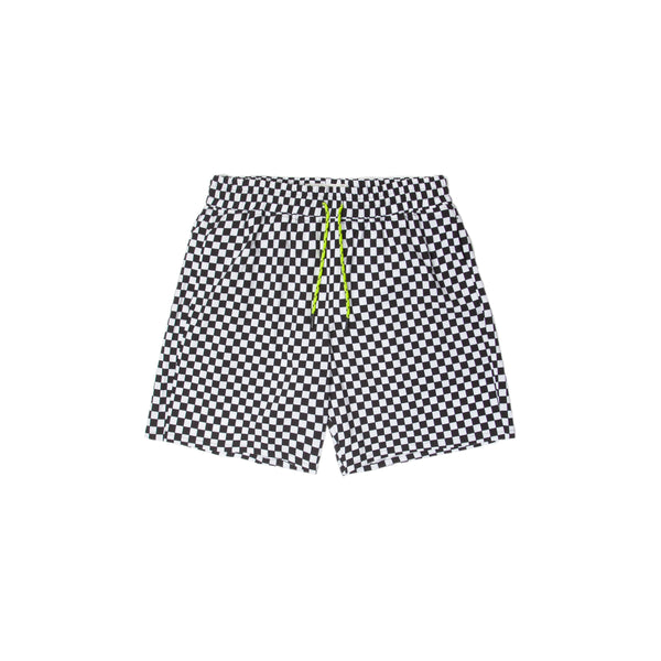 Neon Boardshort - Checkered