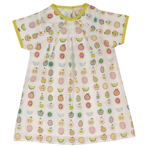 Fruit Print Tunic - souzu.co.uk