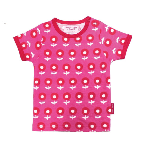 Pink Flower Top - Pack of 2