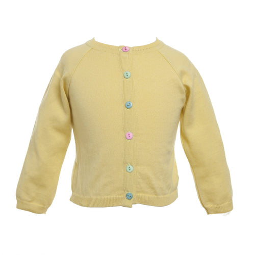 Classic Lemon Cardigan - souzu.co.uk