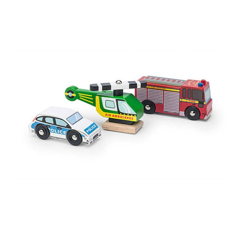 Emergency Vehicles Set - souzu.co.uk