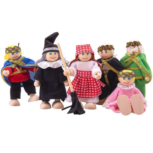 Fairy Tale Dolls Set