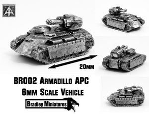 BR002 Armadillo APC (Pack of Four or Single)