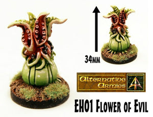 EH01 Flower of Evil (Monster Plant suitable for all scales)