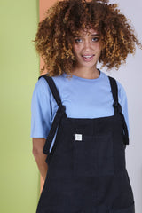 Organic Originals in Charcoal Black-Dungarees-Sancho's Dress