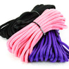 Agreeable Agony 5/16 inch Solid Braid MFP Bondage Rope Black Pink Purple