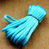 Agreeable Agony 5/16 inch Solid Braid MFP Bondage Rope Aqua Blue