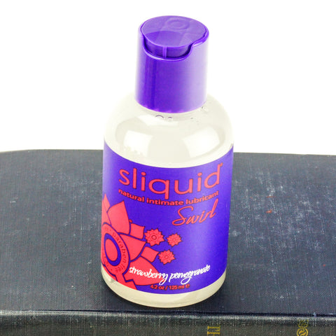 Sliquid Swirl Flavored Water Based Lubricant Strawberry