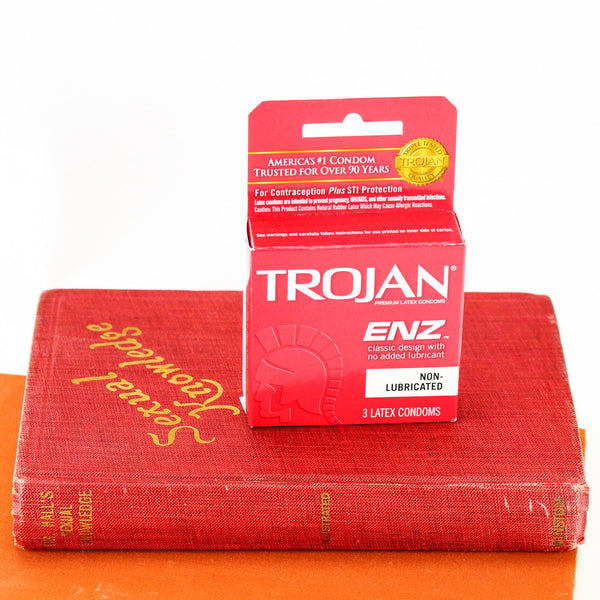 Trojan ENZ Non-Lubricated Condoms 3-pack