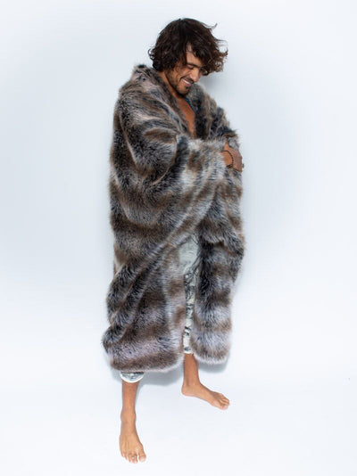 Wolf Galaxy Faux Fur Throw - SpiritHoods