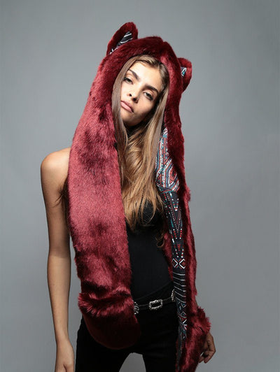 Spotted Fire Wolf Collectors Edition SpiritHood - SpiritHoods