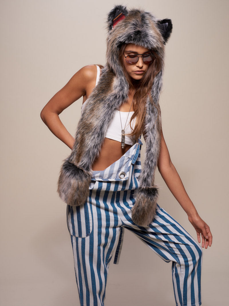 Grey Wolf Sedona Collector Edition SpiritHood