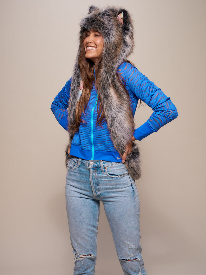 Unisex Grey Wolf Collector Edition SpiritHood