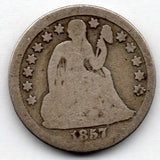 1887-P Seated Liberty Dime (90.0% Silver)