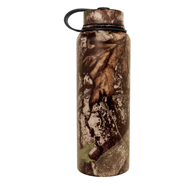41 oz True Timber Camo Thermal Vacuum Sealed Double Insulated Sports Bottle