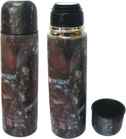 25 oz True Timber Camo Thermal Vacuum Sealed Double Insulated Sports Bottle